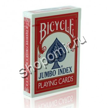 Карты Bicycle Jumbo Red