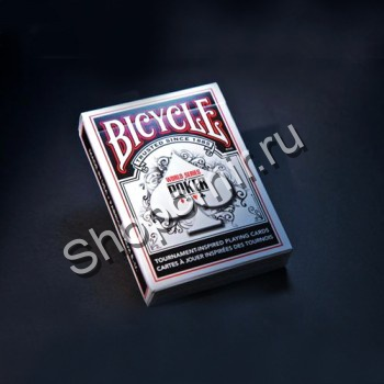 Карты Bicycle WSOP black