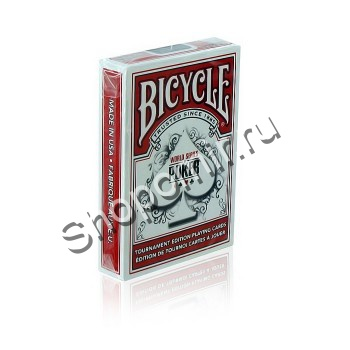 Карты Bicycle WSOP red