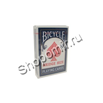 Карты Bicycle Bridge Size Blue