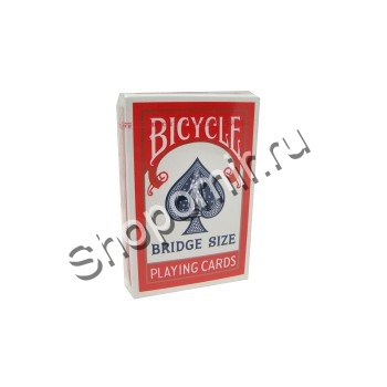 Карты Bicycle Bridge Size Red